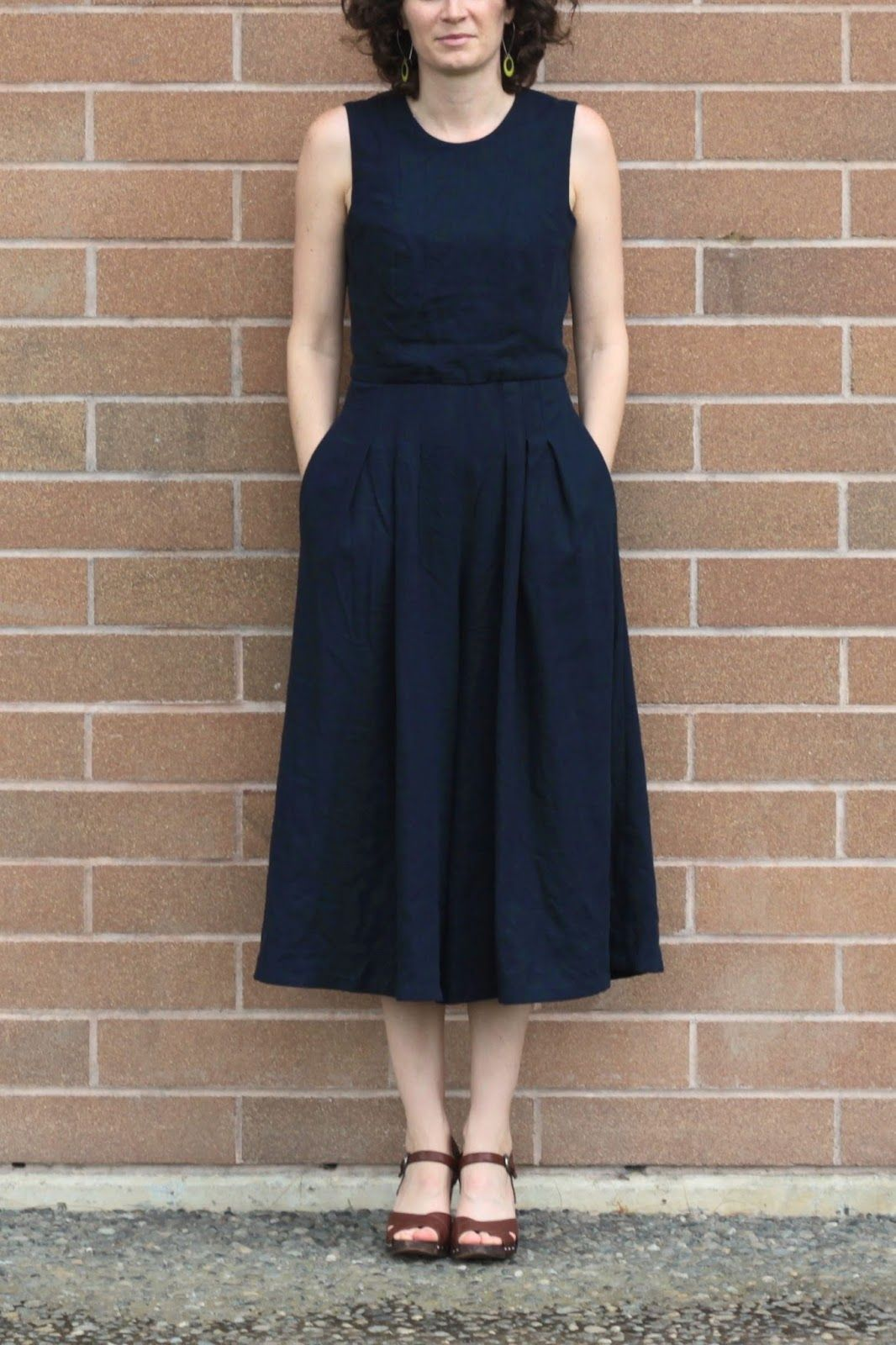 pleated culotte jumpsuit for vintage may // fake it while you make ...