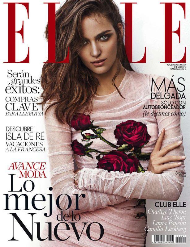 Polskie Modelki W Zagranicznych Edycjach Elle Elle Spain Fashion Cover Fashion Magazine Cover