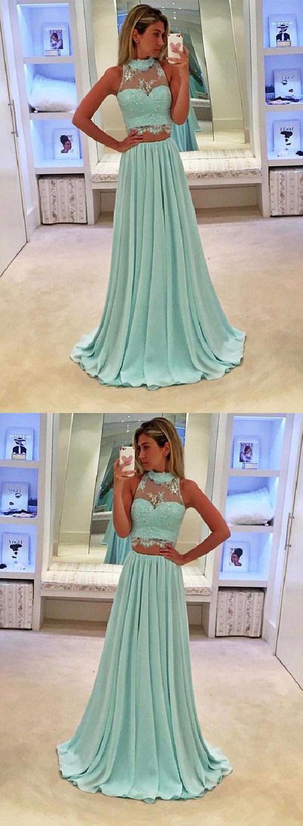 Customized beautiful long bridesmaid dress lace prom dresses prom