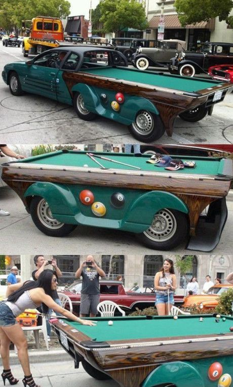 A Mobile Billiard Table To Make You Have A Billiard Game At Anytime - Mobile pool table