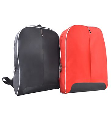 BP 812 Back Pack [BP 812] Size: 29cm(L) x 10cm(W) x 45cm(H) Material: Microfibre + polyester 990  Colour: Black, Red