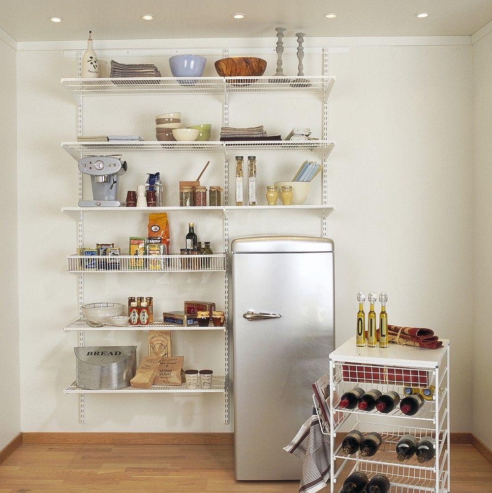 Kitchen Amazing Kicthen Storage Solution White Blind Rack Kitchen