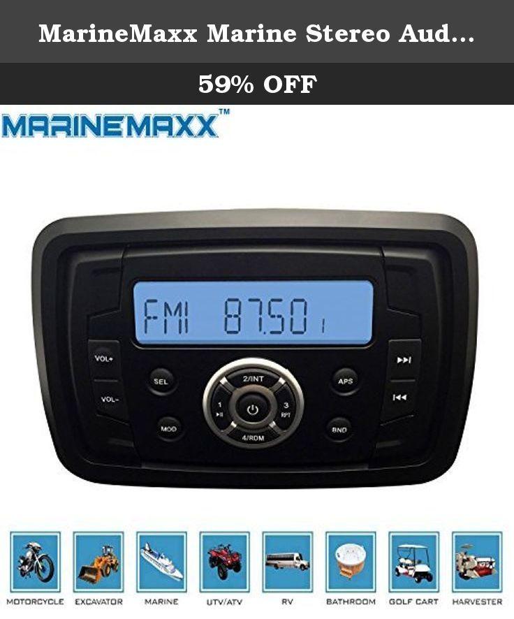 Waterproof Stereo Marine audio system Boat MP3 Radio AM//FM for Car Yauht ATV