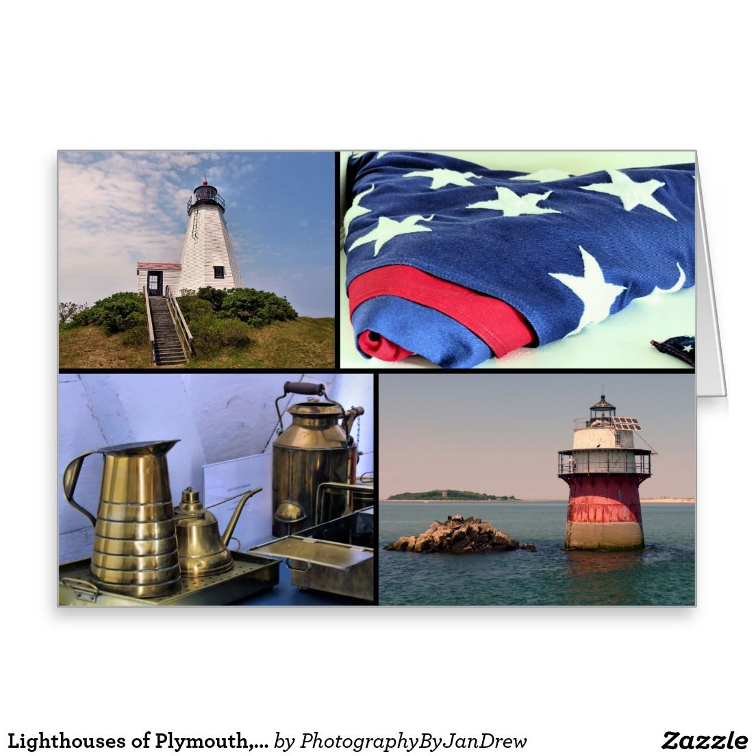 Lighthouses of plymouth ma card plymouth and lighthouse lighthouse kristyandbryce Choice Image