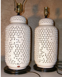 Friday Obsession Vintage Ginger Jar Lamps Octavia Brown