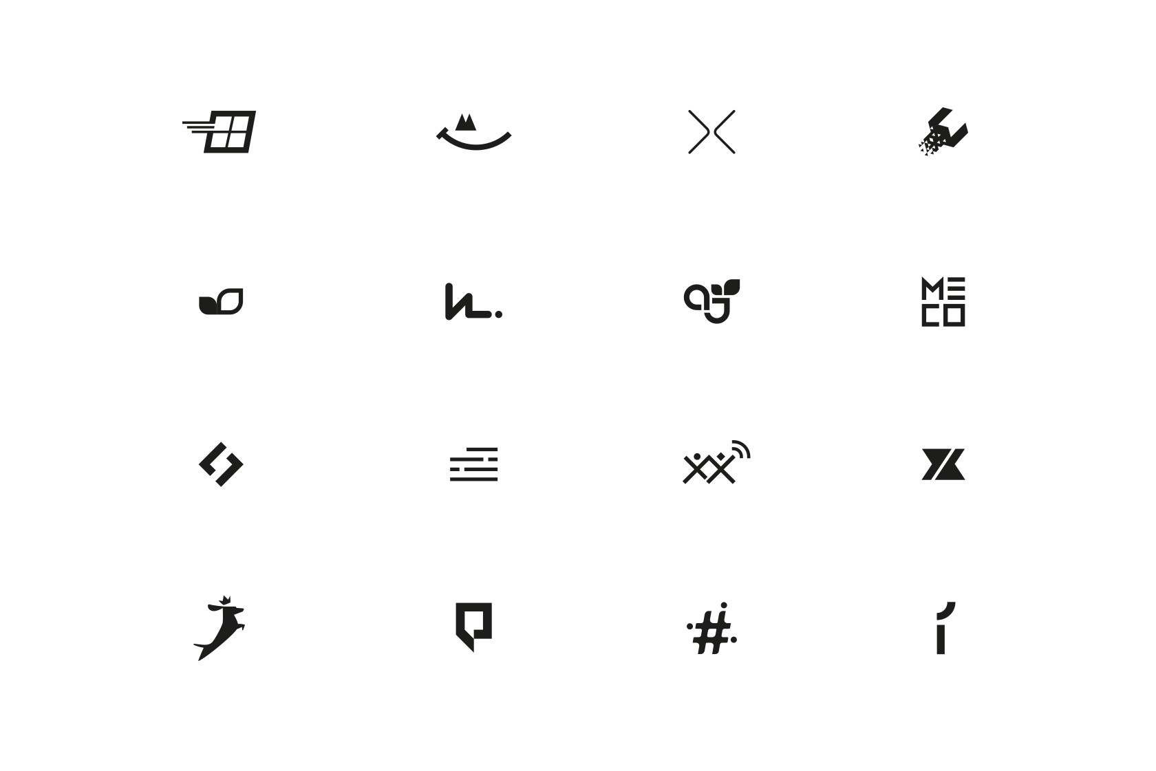 Logos Marks Icons On Behance Logo Mark Logos Icon