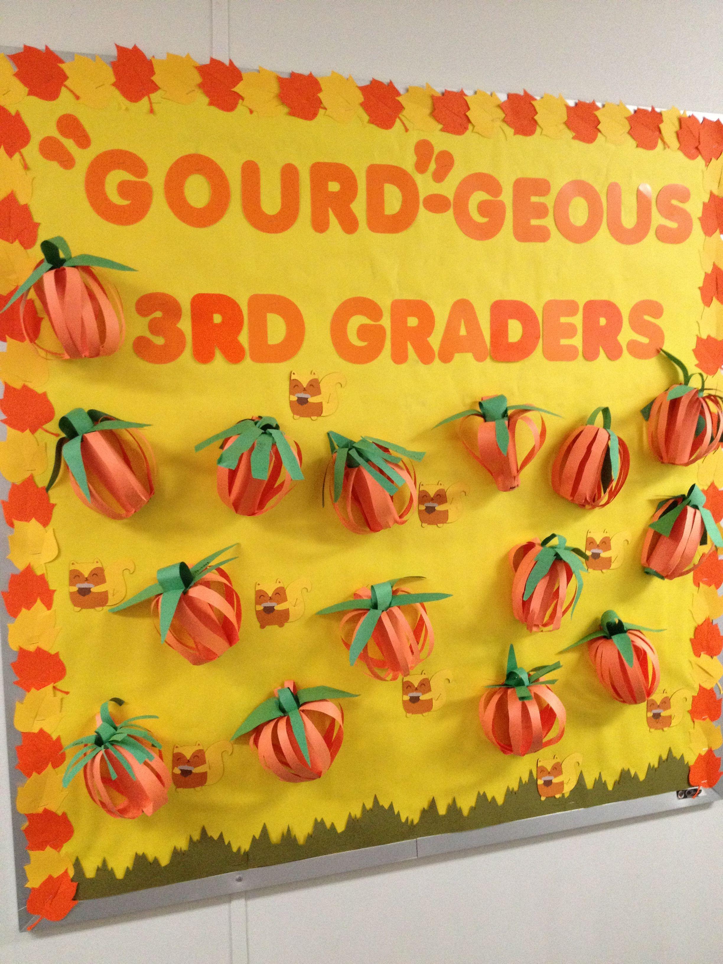 Fall bulletin board toddler ideas pinterest fall for Fall bulletin board ideas
