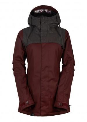 686 Womens Snowboard Jacket Parklan Mystique Insulated