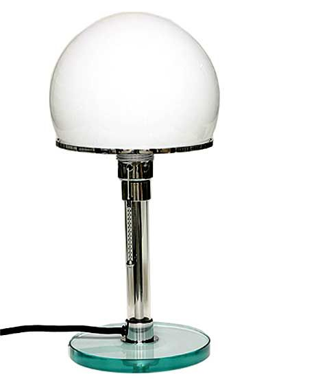 Wilhelm Wagenfeld table lamp, #Bauhaus 1924 | Bauhaus möbel