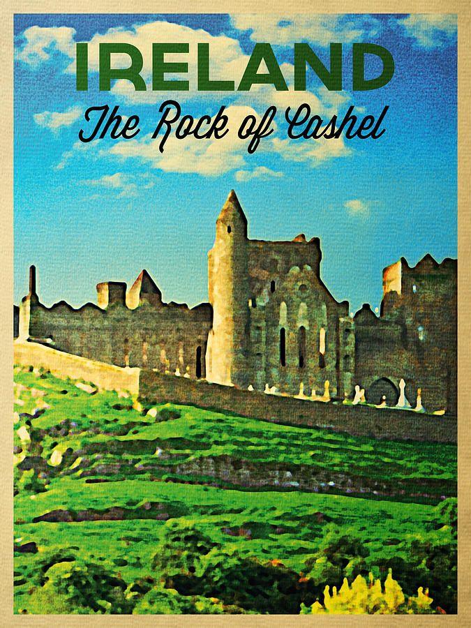 Vintage Travel Posters Ireland Ireland Chauffeur Travel Affiches Anciennes Irlande Affiche