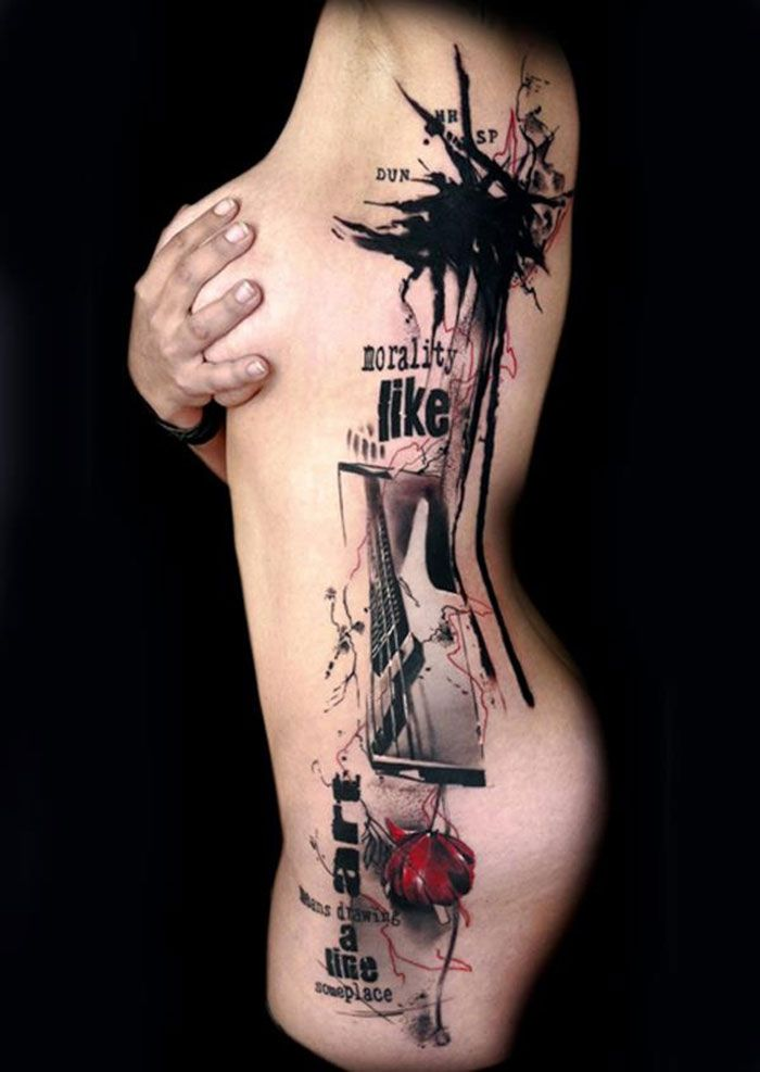 Sehr tatouage-buena-vista-tattoo-club- trash-polka (5) | Trash polka  FL28