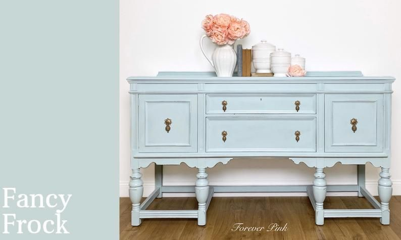 Country Chic Paint Dune Grass Happy Hour Fancy Frock Etsy In 2020 Country Chic Paint Country Chic Green Furniture