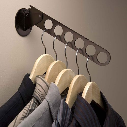 create convenient sturdy hanging storage for clothes hangers with the wall mount oil rubbed bronze hanger - Clothes Wall Hanger