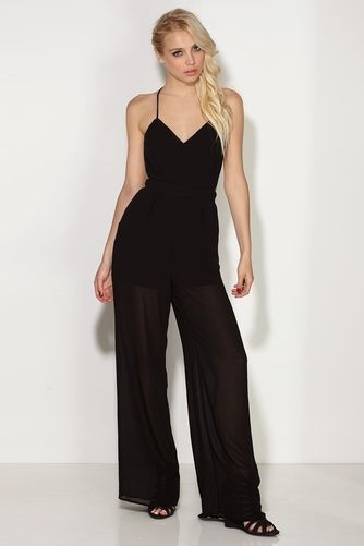 f122594d4 Jump Start Black Palazzo Jumpsuit only $34.99 | Vs clothing ...