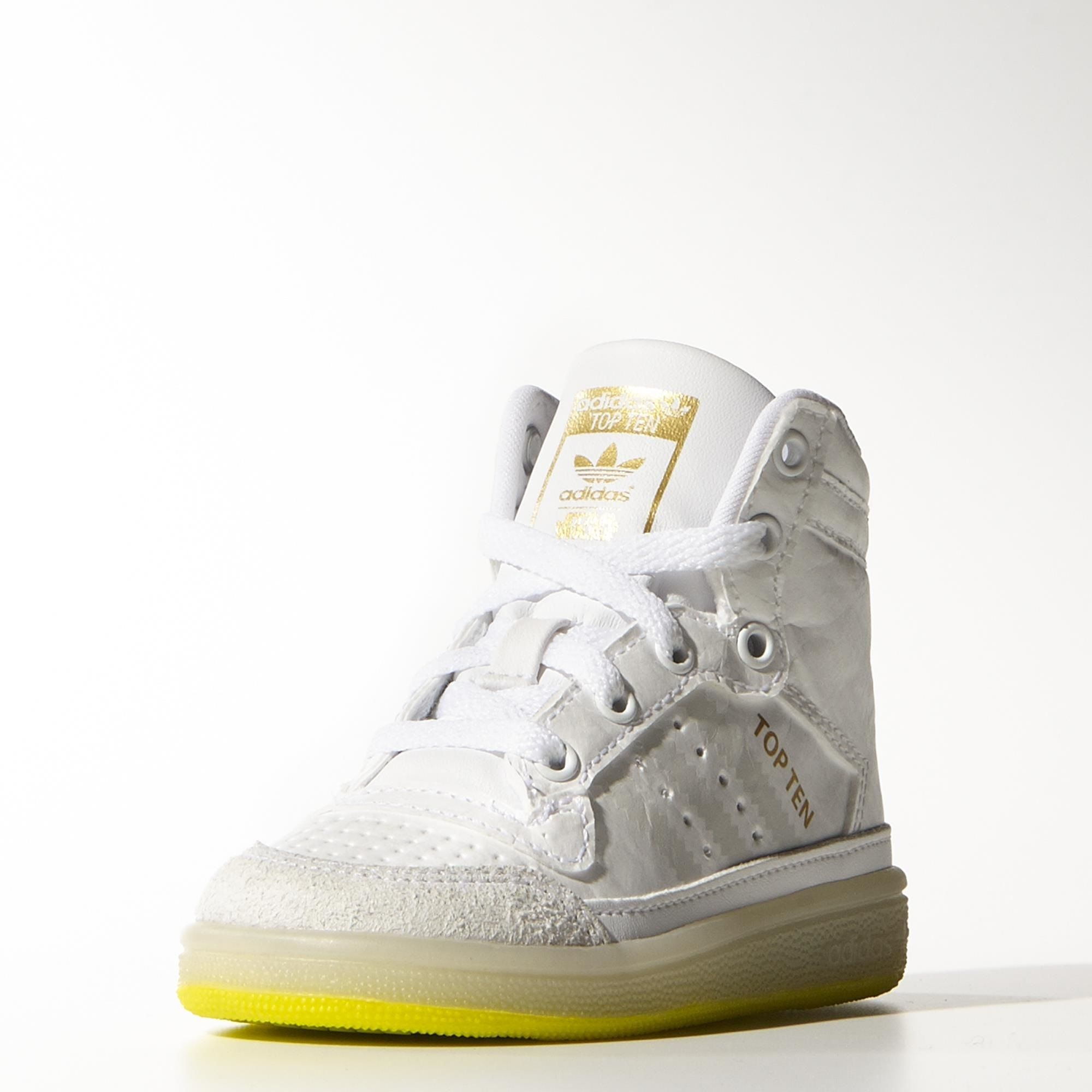 official photos 237a5 7df9c adidas - TOP TEN HI YODA I- hight top snickers kids