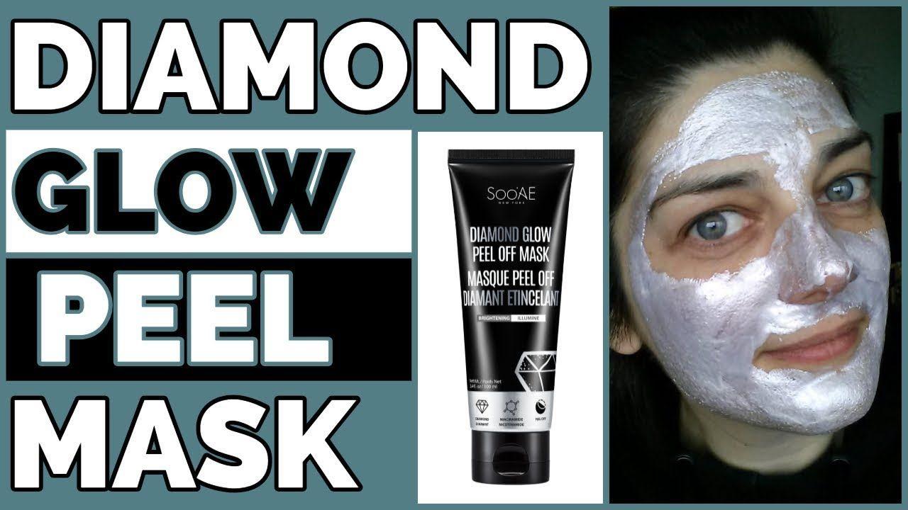 Diamond Glow Peel Off Mask Soo Ae Peel Off Mask Skin Care Mask Combination Skin Mask