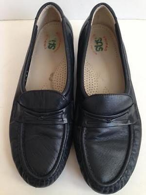 e7b79ad7ac1 SAS size 9.5 Women s Tripad loafer slip on leather comfort shoes navy blue
