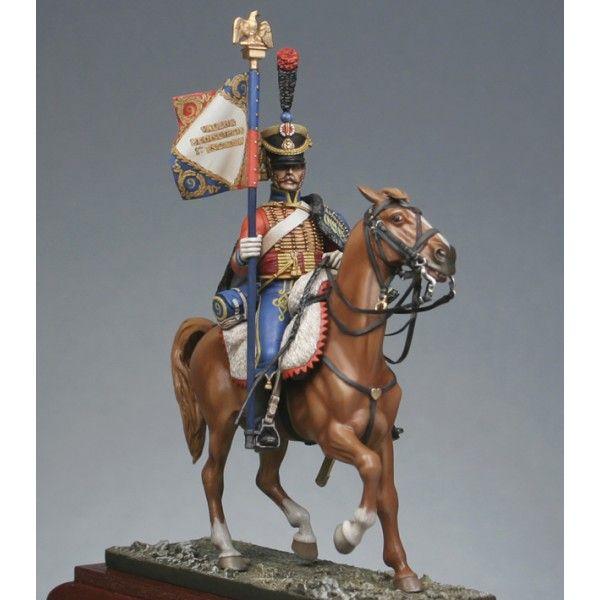 Porta Aquila del 9 rgt. Ussari francese