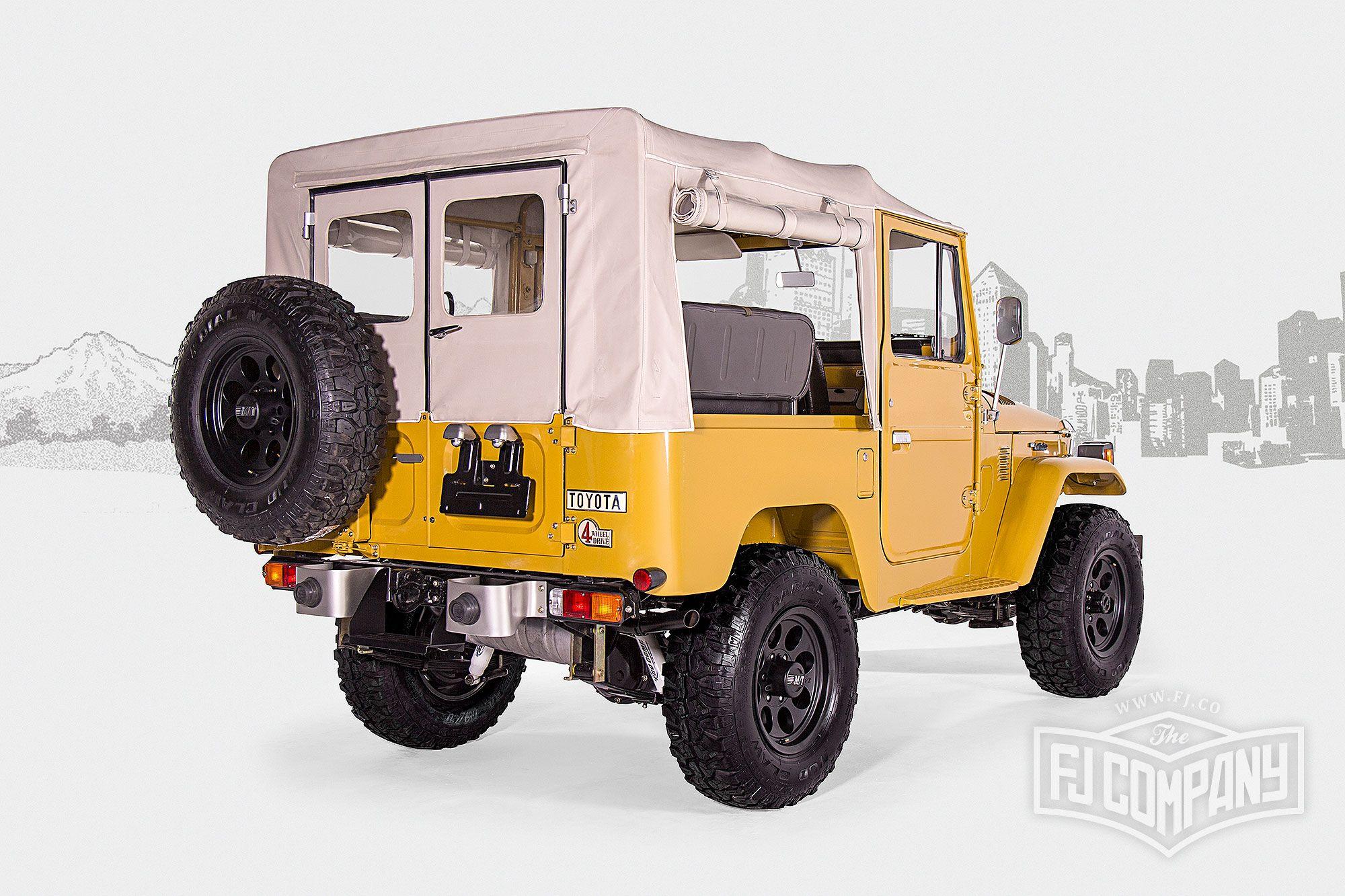 1976 Toyota Land Cruiser FJ40 Yellow #fjco1976yellow #fjcompany #fj40 #toyota #landcruiser #fjrestoration
