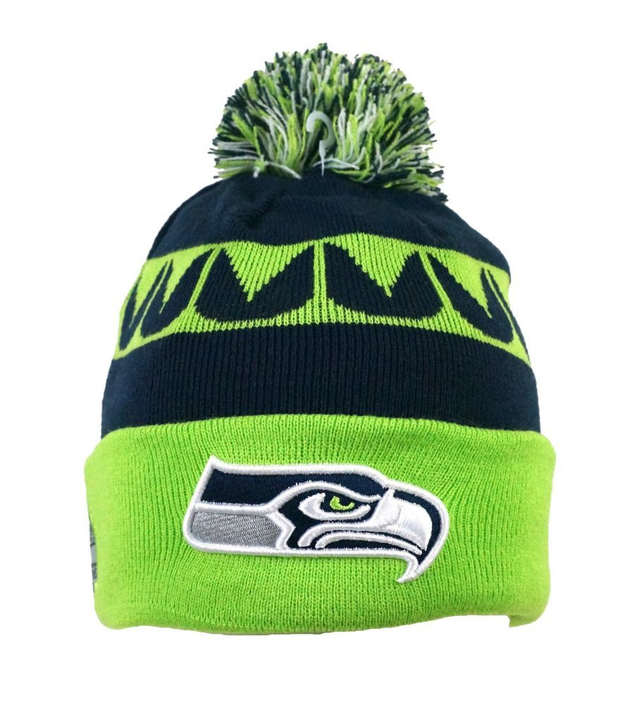 4b682a8a247afe NEW ERA Seahawks On Field CHAMPIONS Knit Beanie with XLVIII champion patch  with #NewEra #SeattleSeahawks