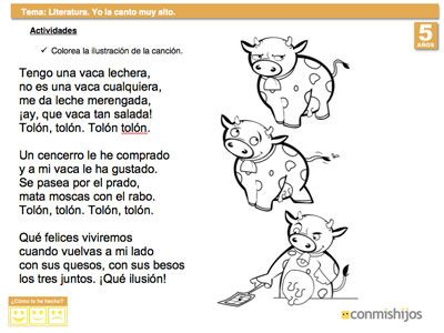poemas para ninos en espanol   ... una poesía memorizar una rima ...