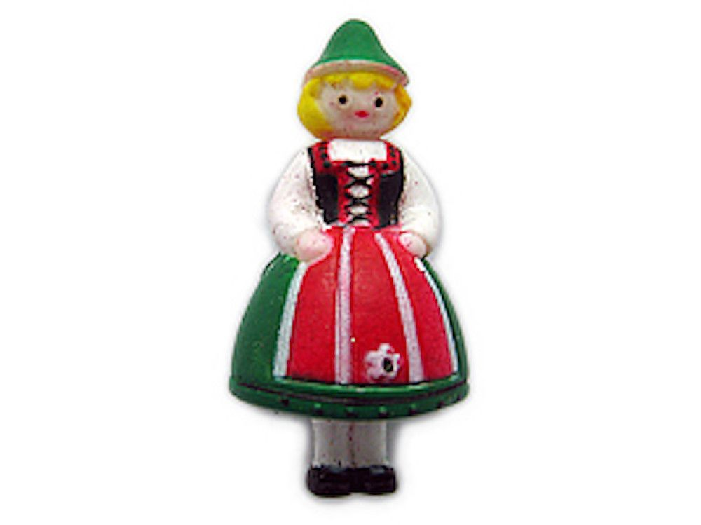 German Souvenir German Girl Fridge Magnet Germany Pinterest