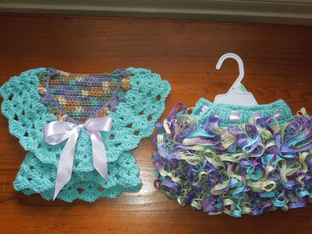 Pin de Lupita Ancer en Vestidos crochet | Pinterest | Tejido, Bebe y ...