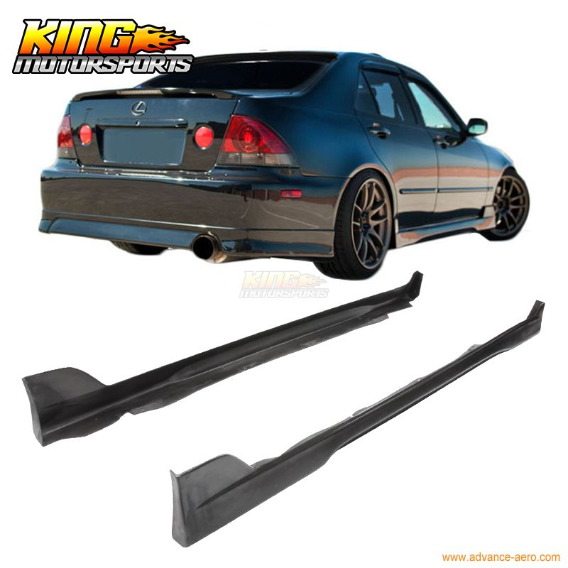For 2001 2005 Lexus Is300 Altezza Sxe10 Trd Style Side Skirts Sideskirt Pair Usa Domestic Free Shipping Lexus Is300 Lexus Trd