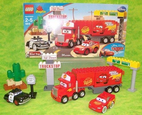 Lego Duplo Mack's Road Trip Disney Cars Play Set 5816 w Box Semi ...