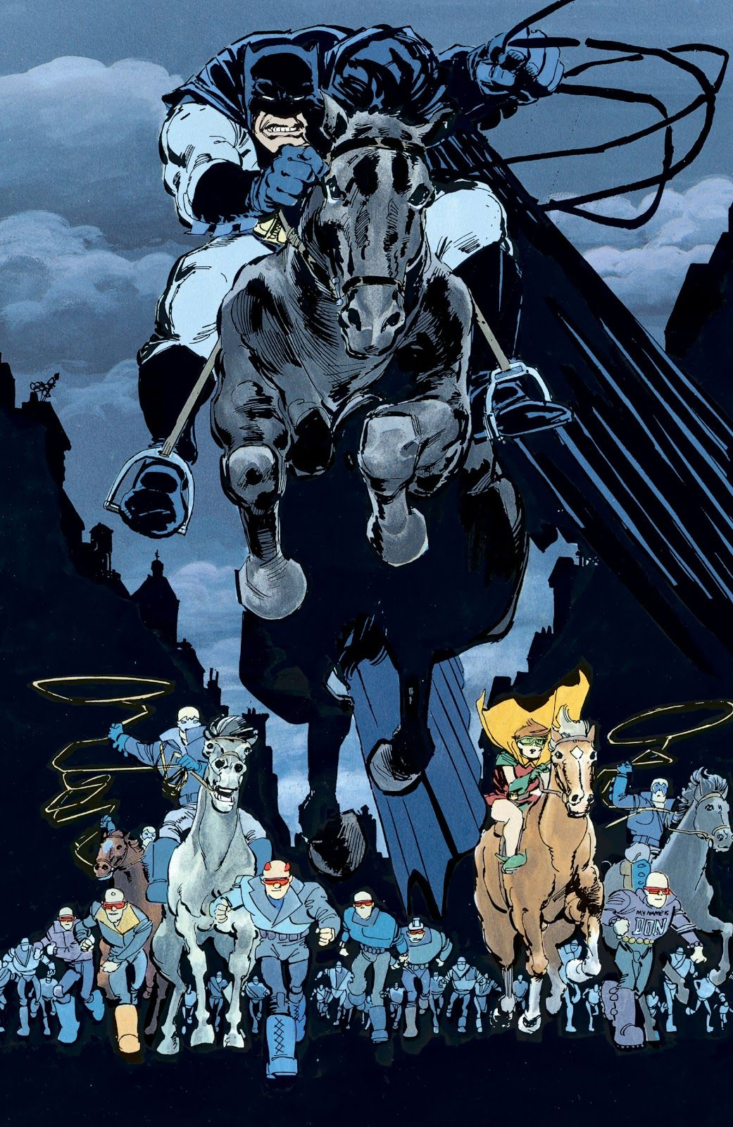 Batman The Dark Knight Returns Issue 4 Read Batman The Dark