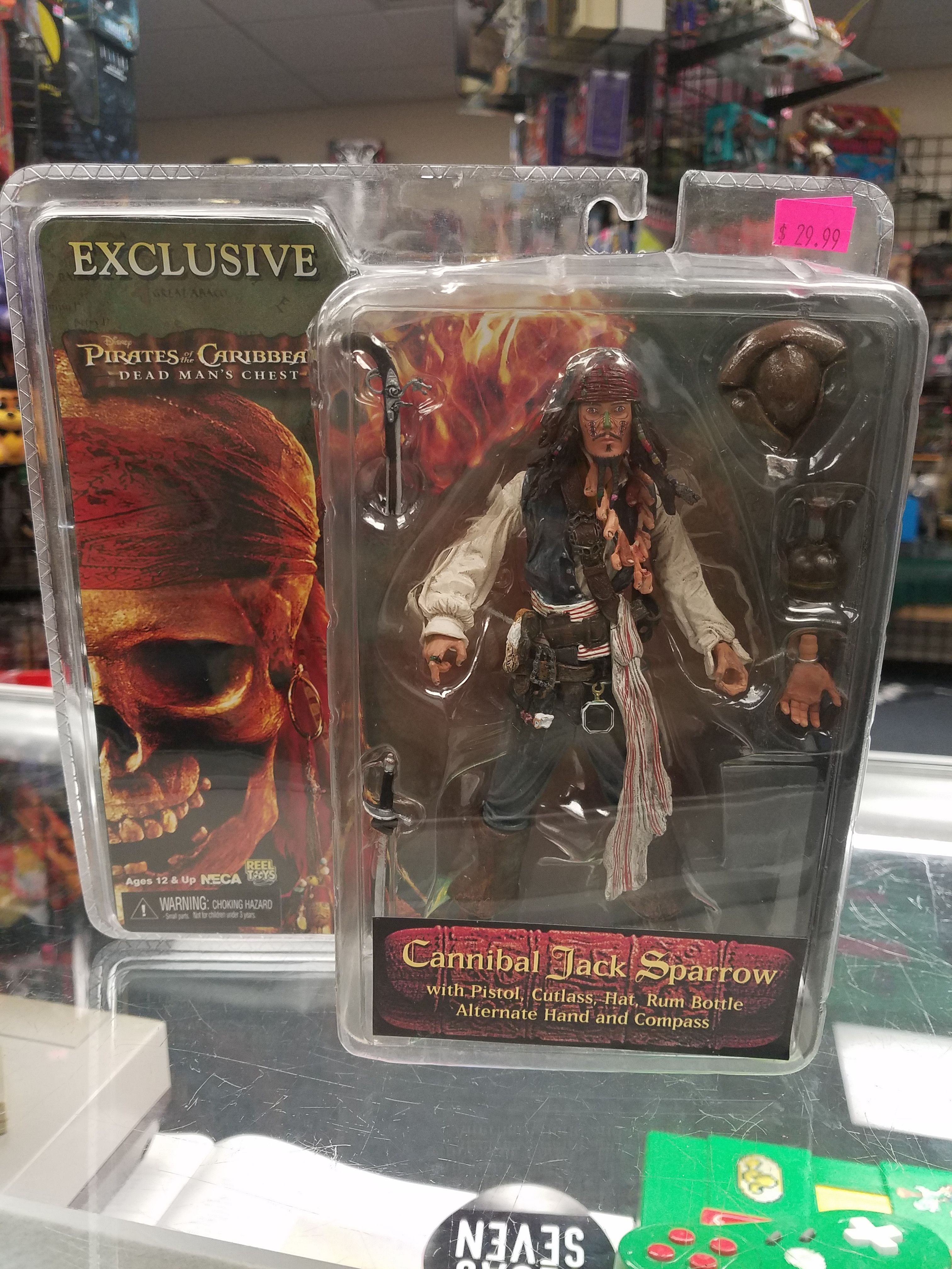 Pirates Of The Caribbean Toys : Neca reel toys pirates of the caribbean dead man s chest