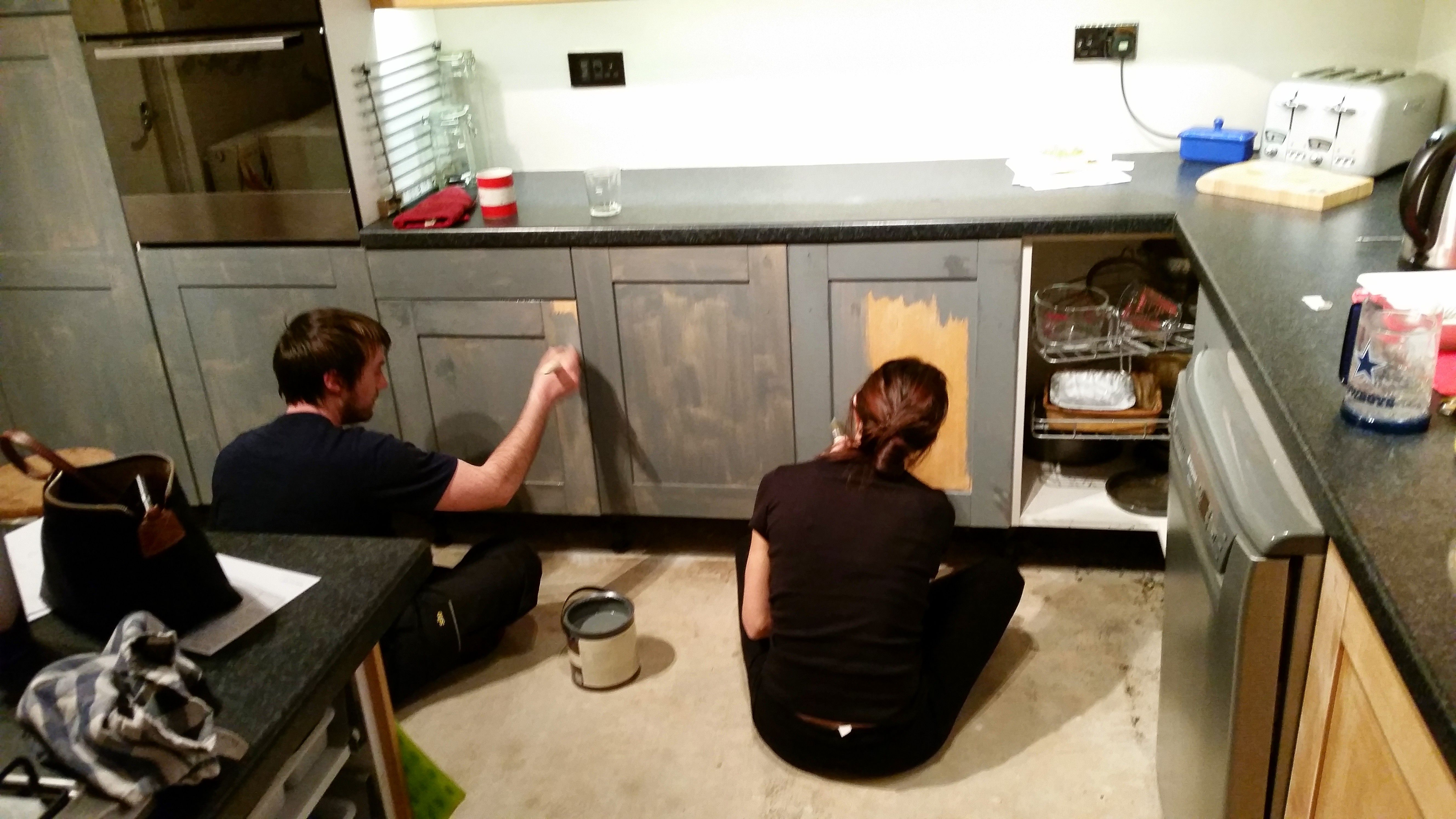 How Paint Ikea Faktum Kitchen Cabinets