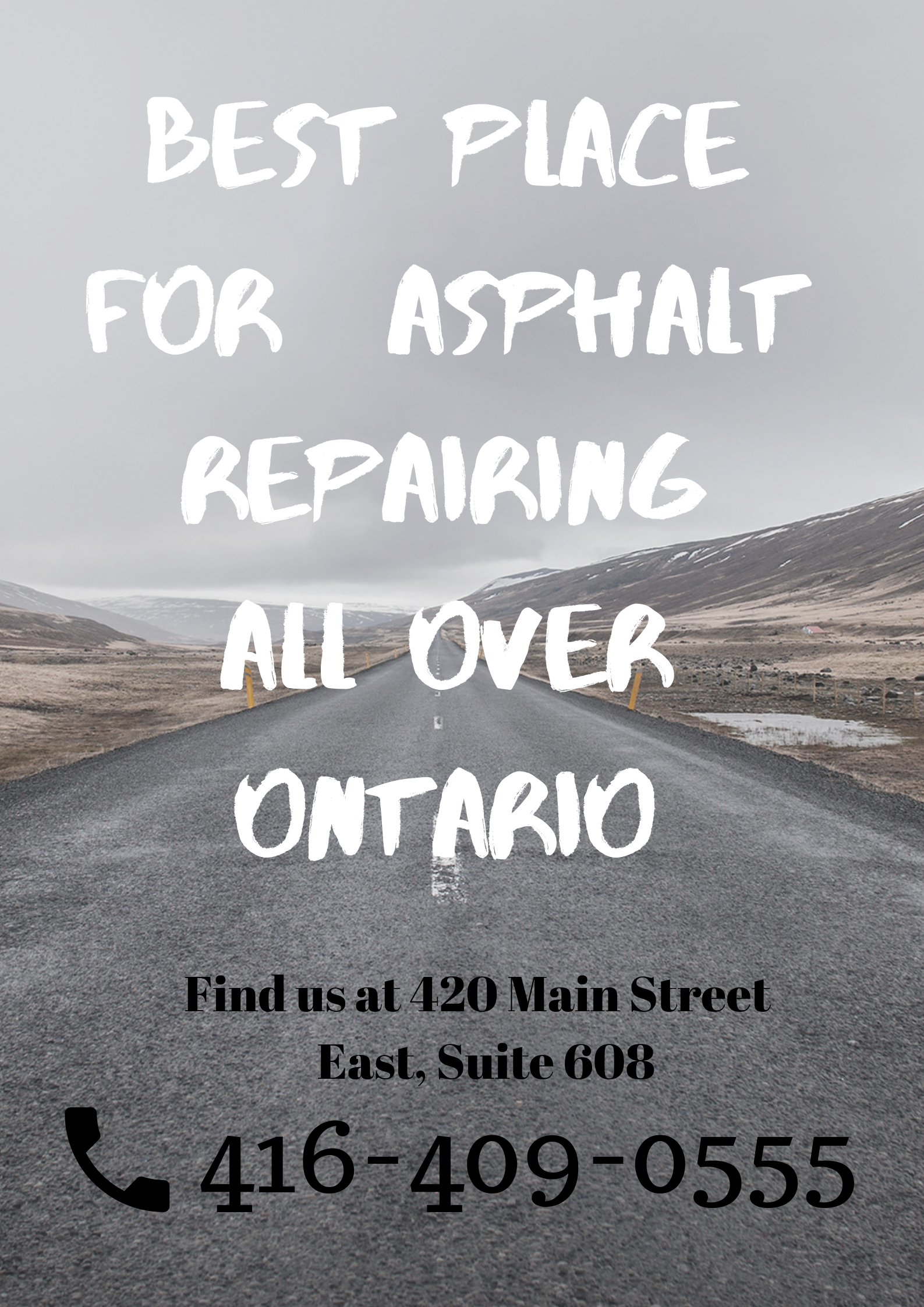 Asphalt Repair Snow removal, Commercial landscaping