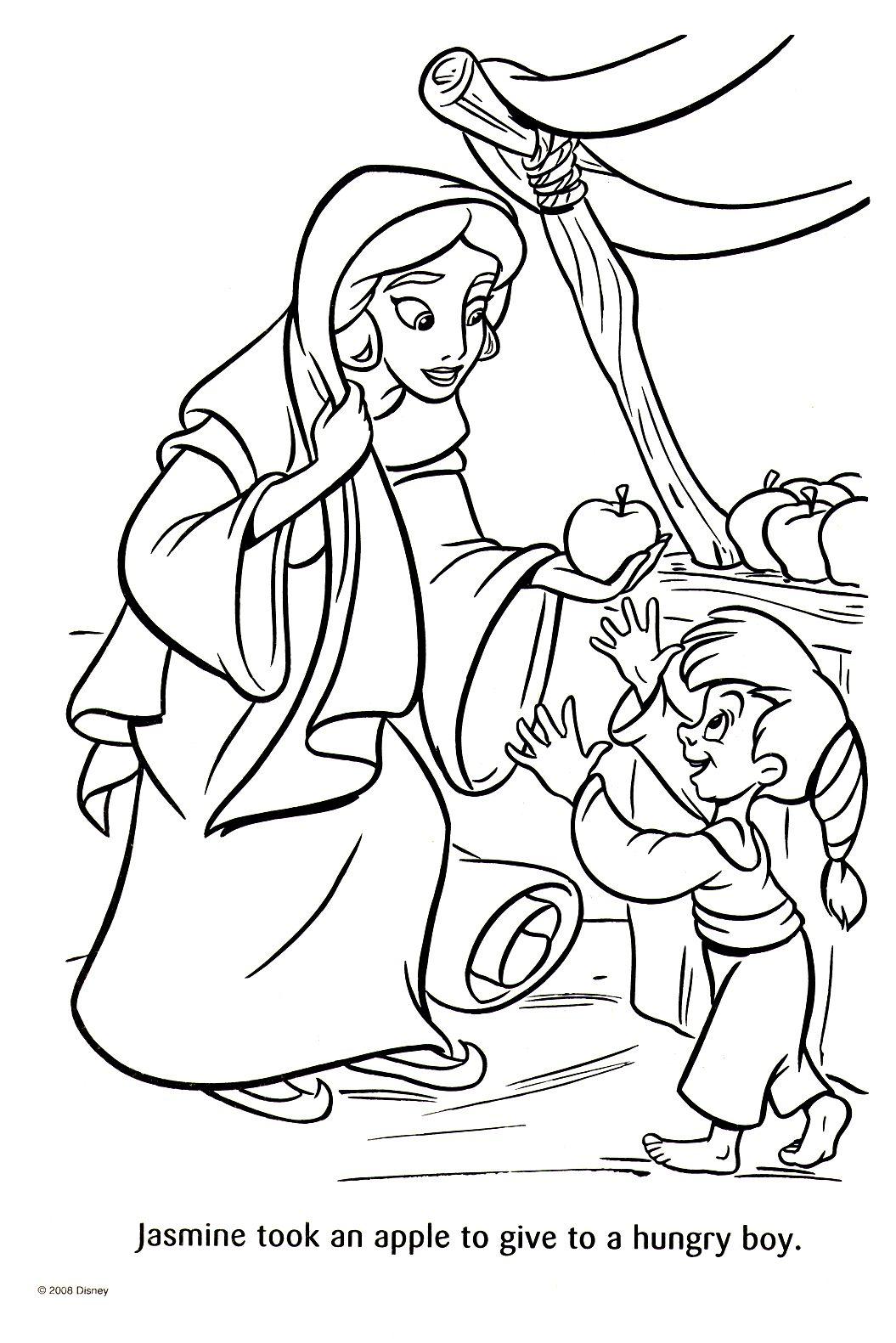 Ausmalbilder Prinzessin Jasmin : Pin Von Patricia Iannone Auf Disney Aladdin Pinterest