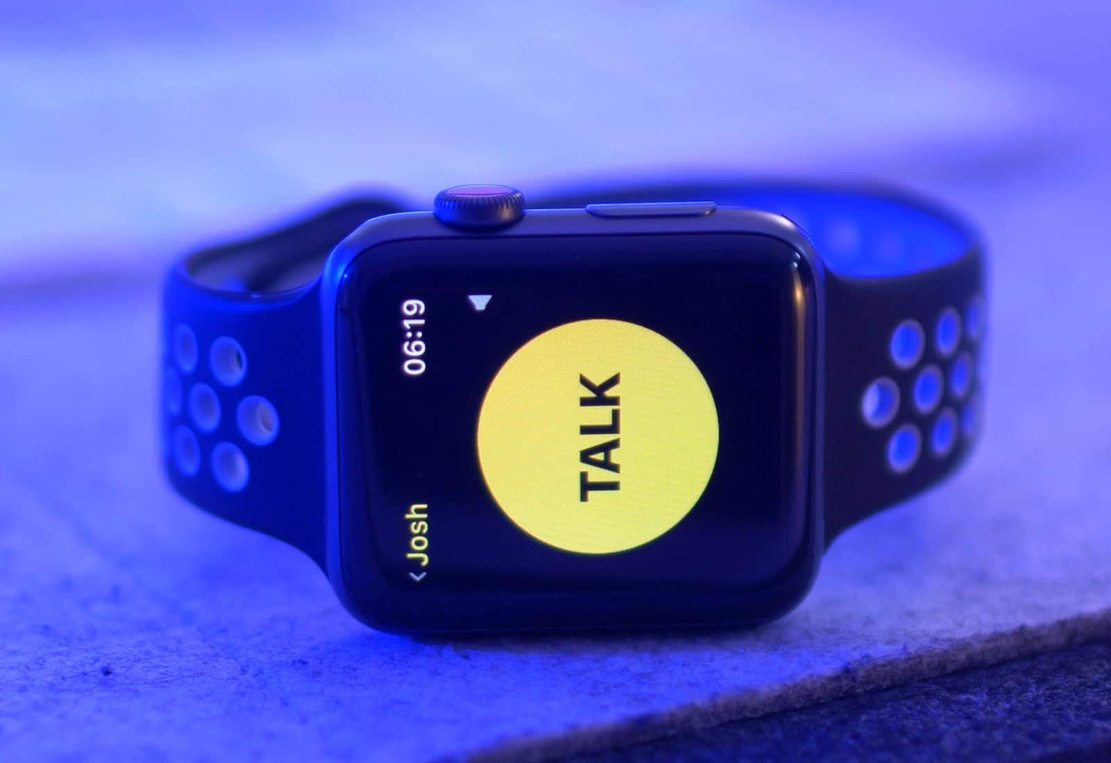 Take a handson look at the WalkieTalkie app with watchOS