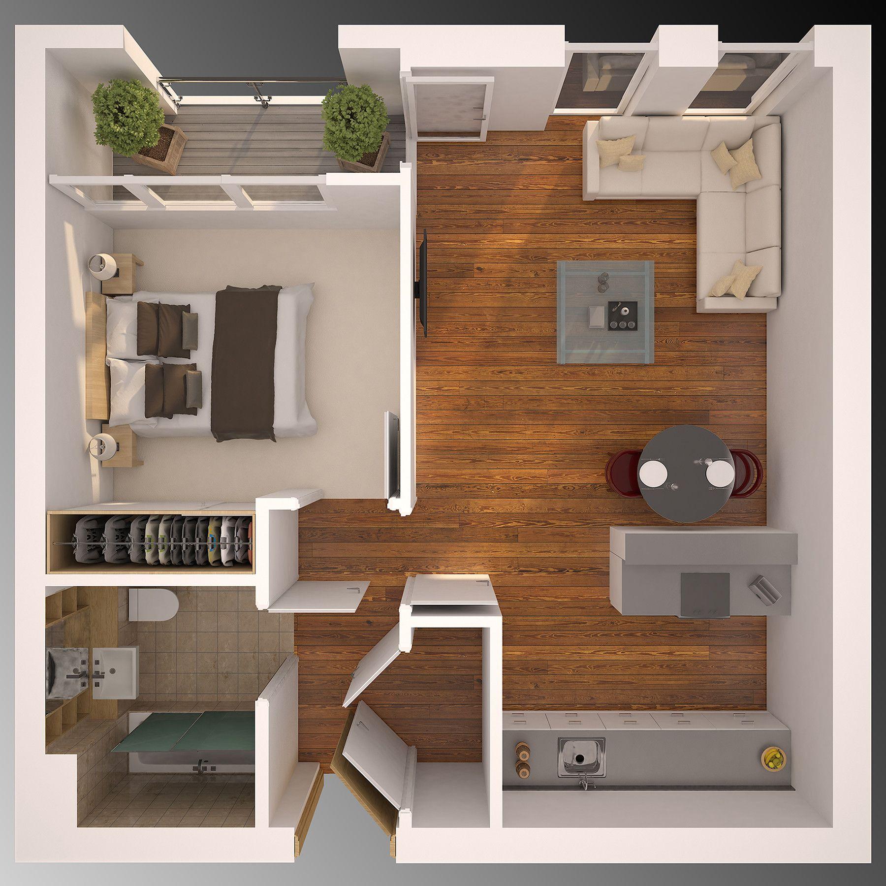Artstation Some Render Same Technich Bertos Rah Small House Plans House Layout Plans House Plans
