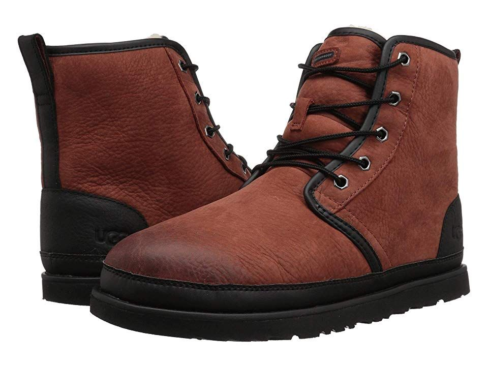 80cba707474 UGG Harkley Waterproof Men's Shoes Red Oxide | Products in 2019 ...
