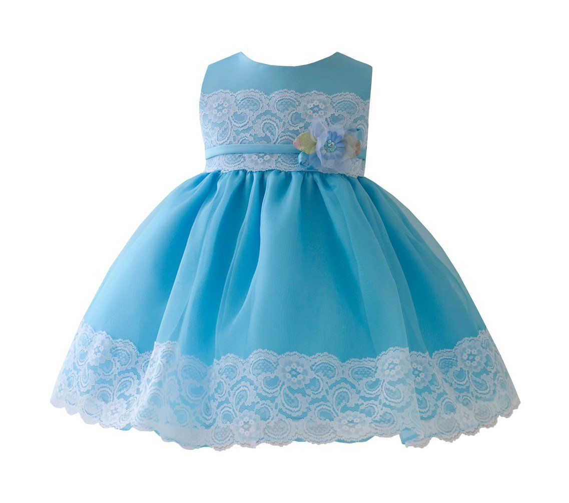 Amazon.com: KID Collection Baby-Girls Enchanting Lace Dress ...