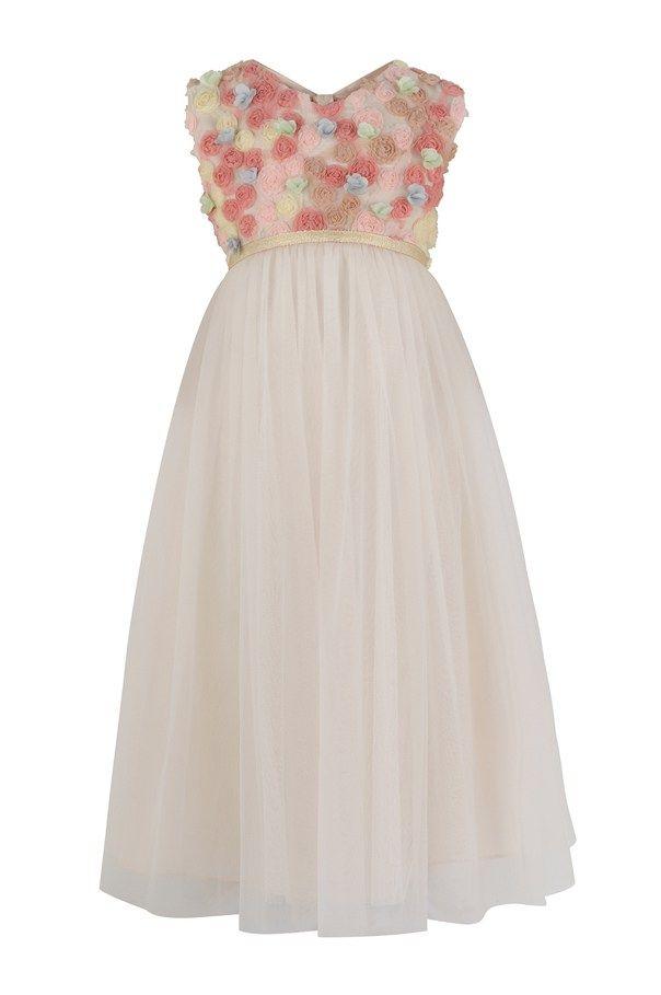 25 Fun Flower Dresses For Your Alternative Wedding Pink Angeline Dress Monsoon