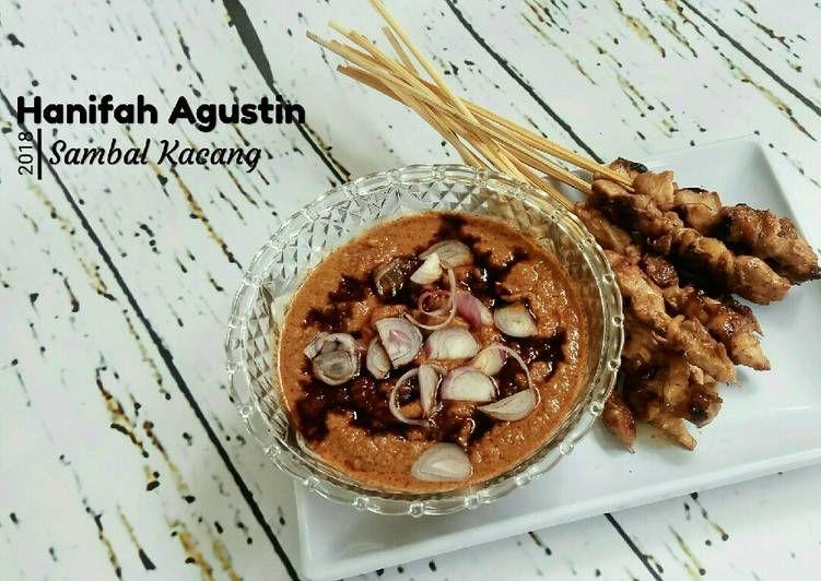 Resep 50 Sambal Kacang Bumbu Sate Oleh Hani Agustin Resep Kacang Resep Tusuk Sate