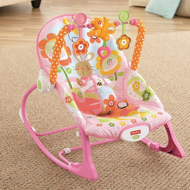 Infant to Toddler Rocker - Pink Bunny 336187191 | Bebê ...