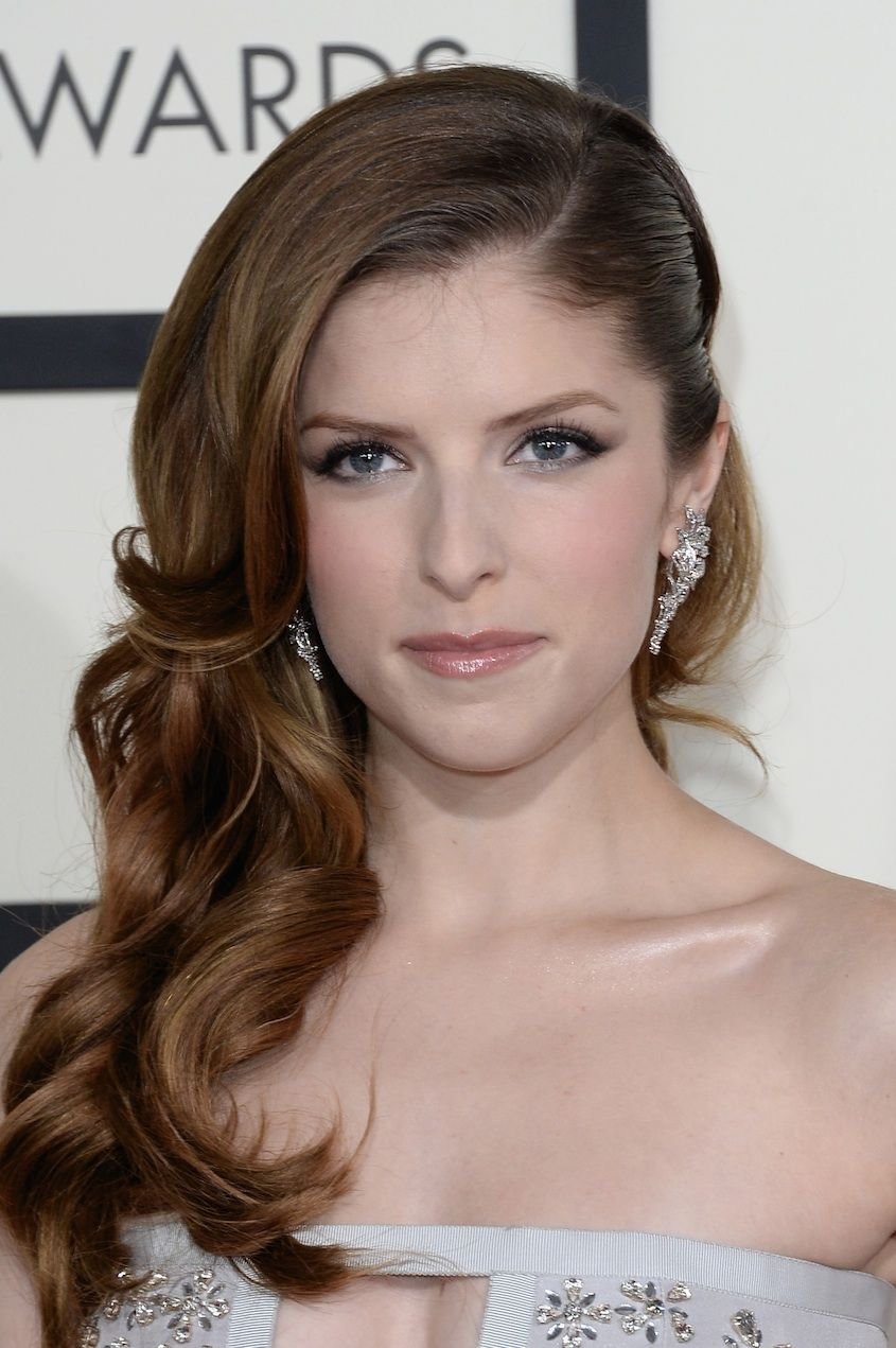 Grammys 2014 Beauty: Anna Kendrick Hairstyle & Makeup | Pinterest ...