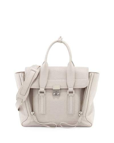 3.1 Phillip Lim Tote - Pashli Medium Satchel Bag Feather - - Tote for ladies Quality From China Wholesale Original Cheap Price Free Shipping Outlet Store Z9LYJUN7O6