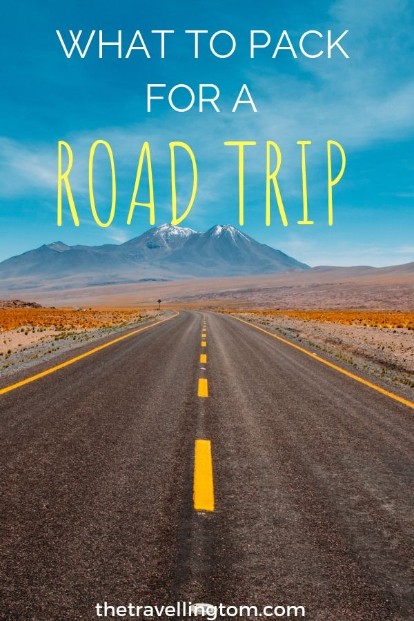 Road Trip Packing List: Important Items You Need On The ...
