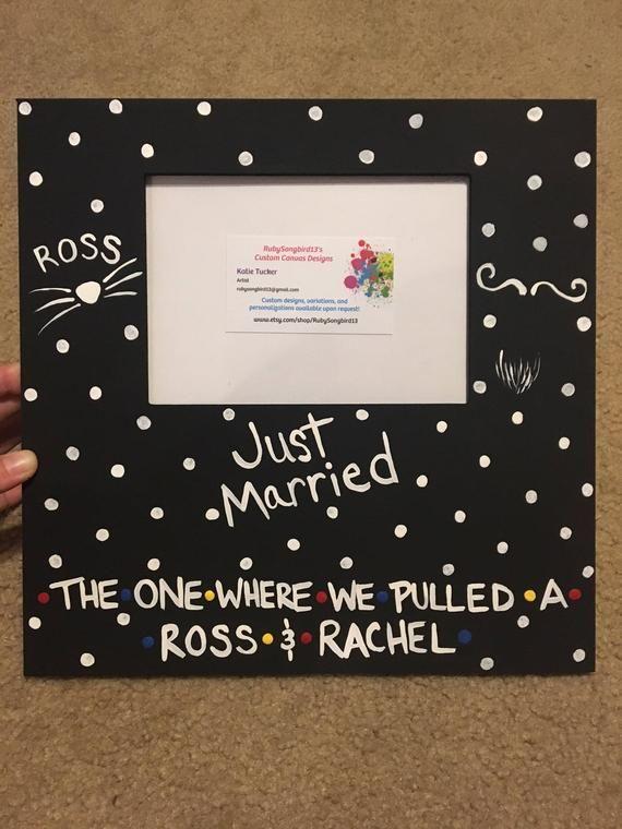 FRIENDS TV Show Ross And Rachel Vegas Wedding Last