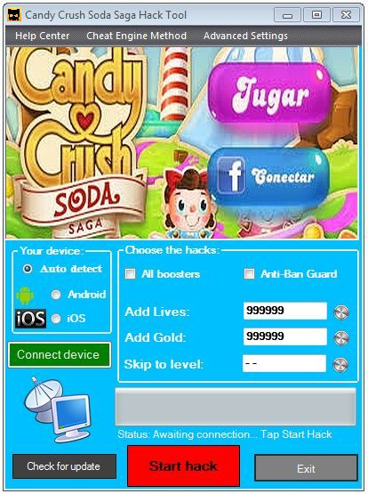Candy Crush Soda Saga Hack Free Gold Bar For Ios Android Candy