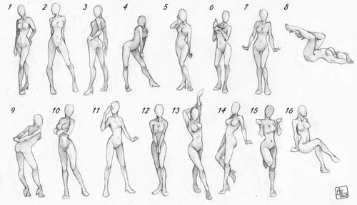 Having trouble drawing female bodies take a look at these