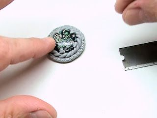 Making Polymer Clay Bezels and maybe a Ring