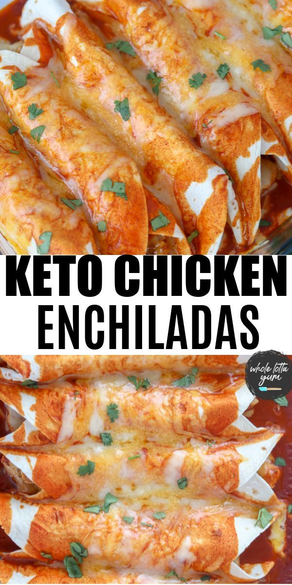 Photo of Keto Enchiladas with Chicken