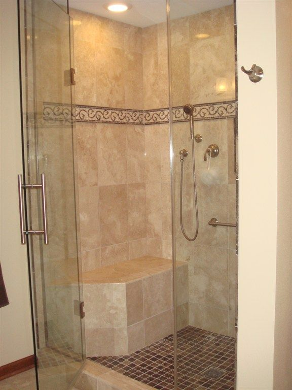 built in benches in showers - Google Search | Ideas for the House ...